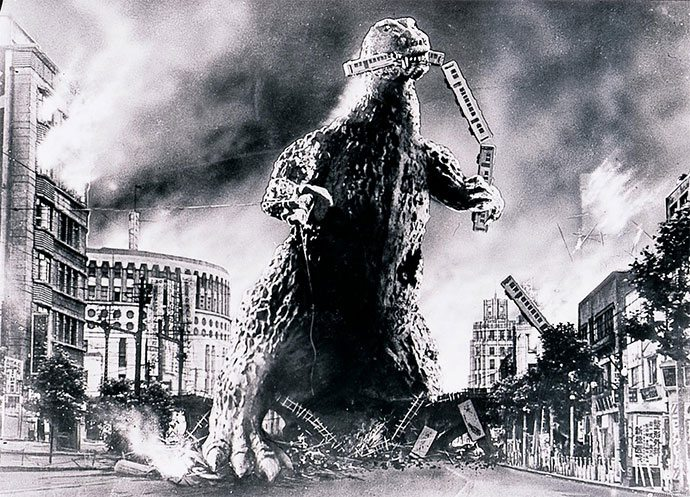 Aquecimento Godzilla