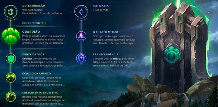 League of Legends | Runas Reforjadas
