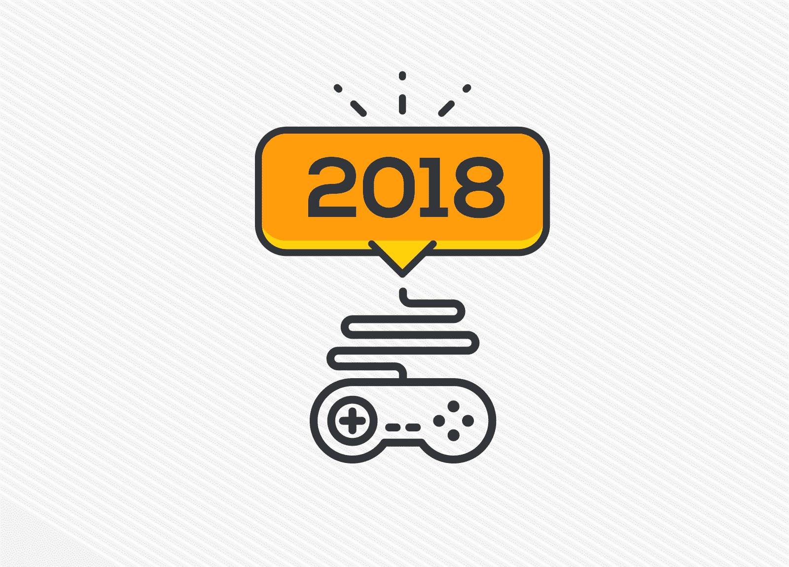 Os 25 games mais aguardados de 2018