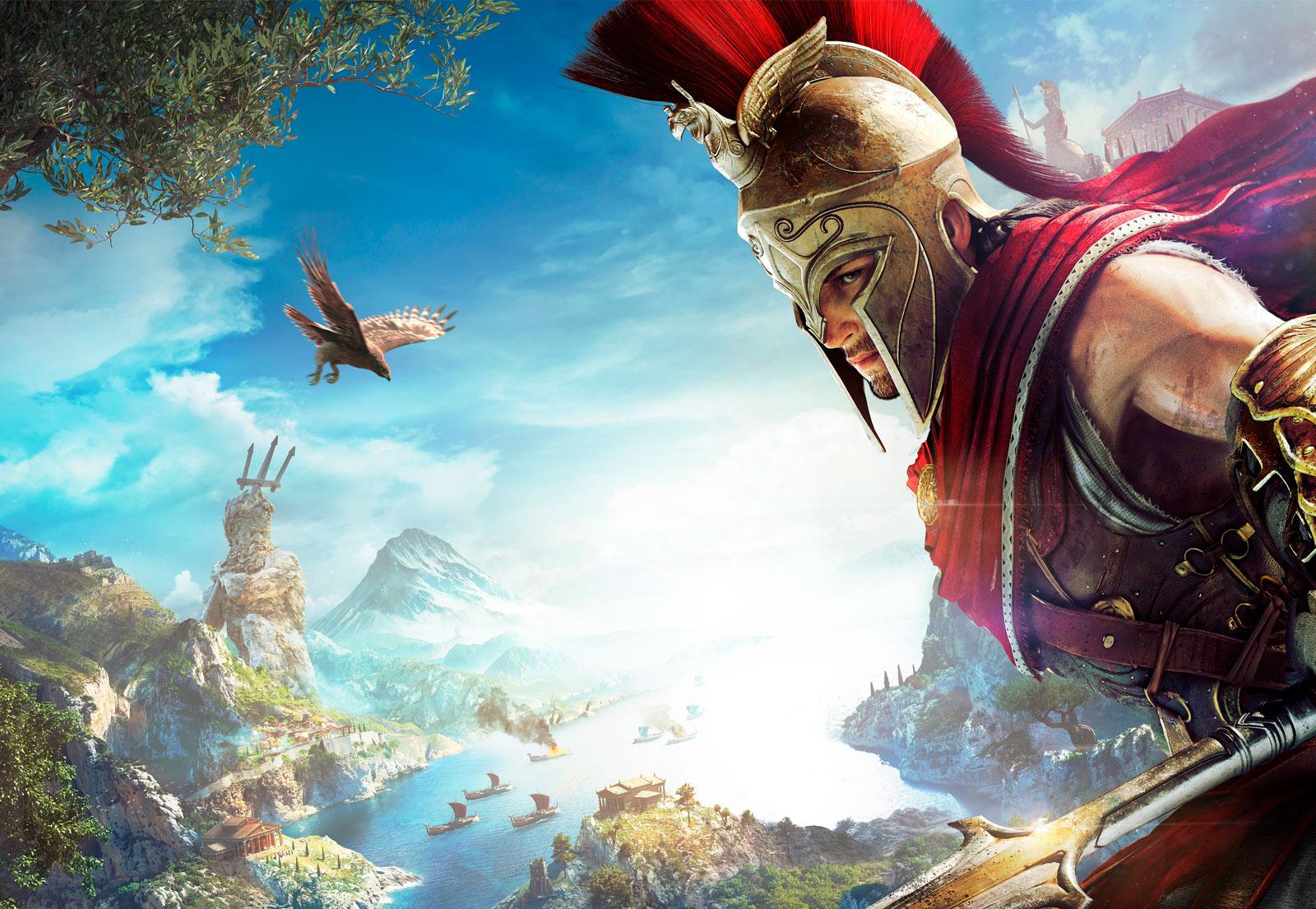 Explorando o mundo de Assassin's Creed Odyssey