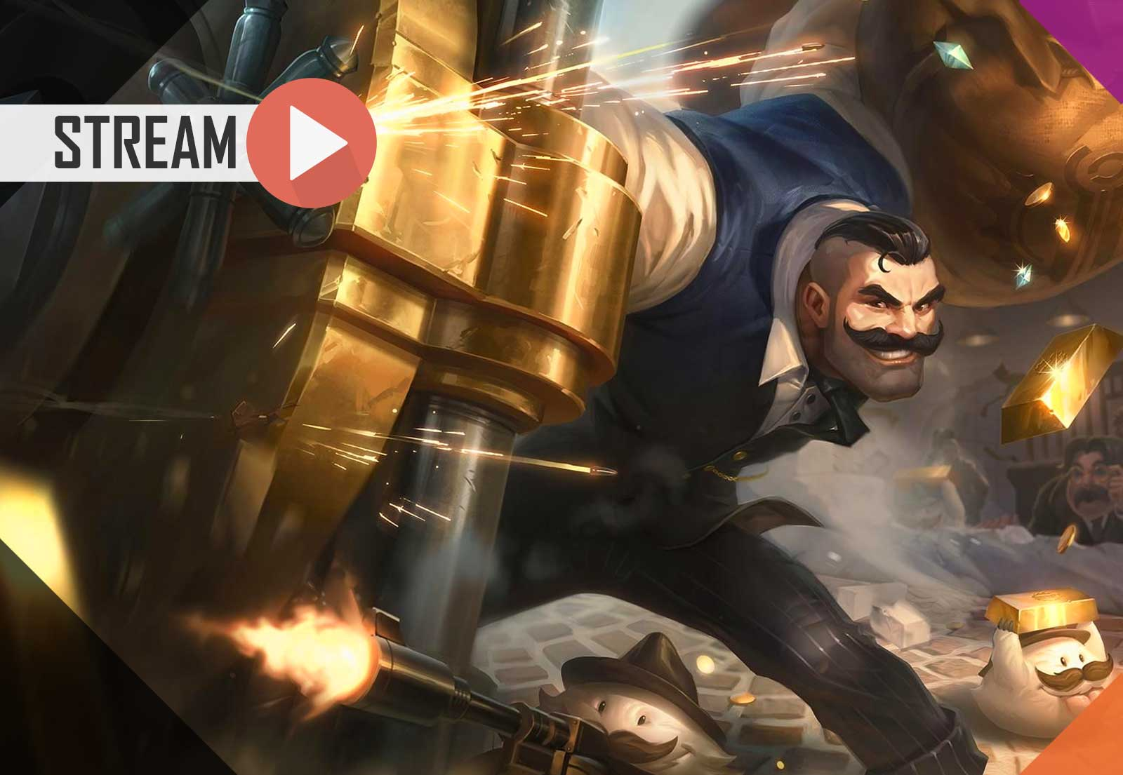 League of Legends (Ranqueada Flex) | Malphite (Mid), Kai'Sa (ADC) e Braum (Sup)