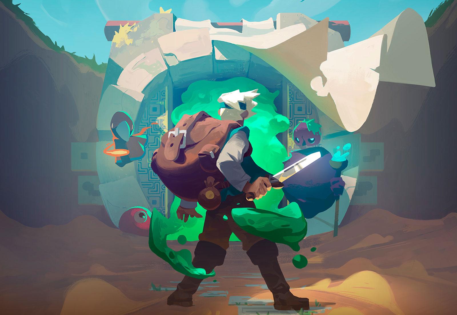 Streaming | Moonlighter (Gameplay + Impressão)