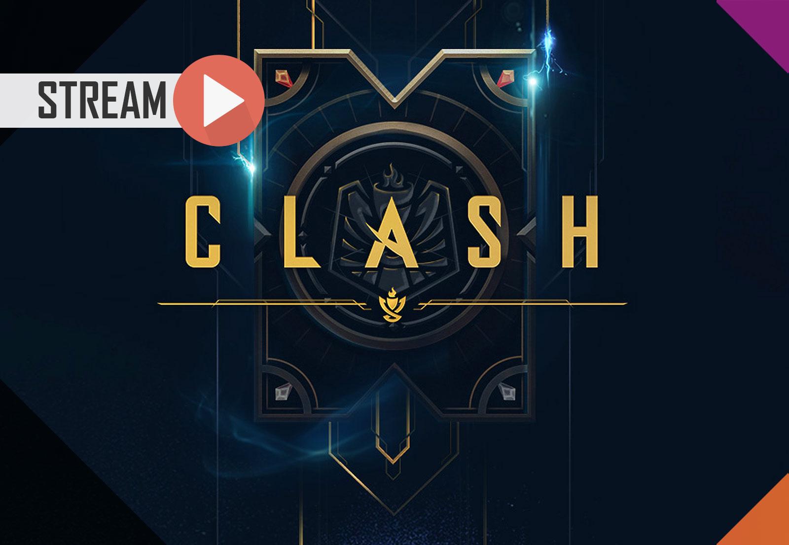 Jogamos (e ganhamos) o CLASH (League of Legends)!