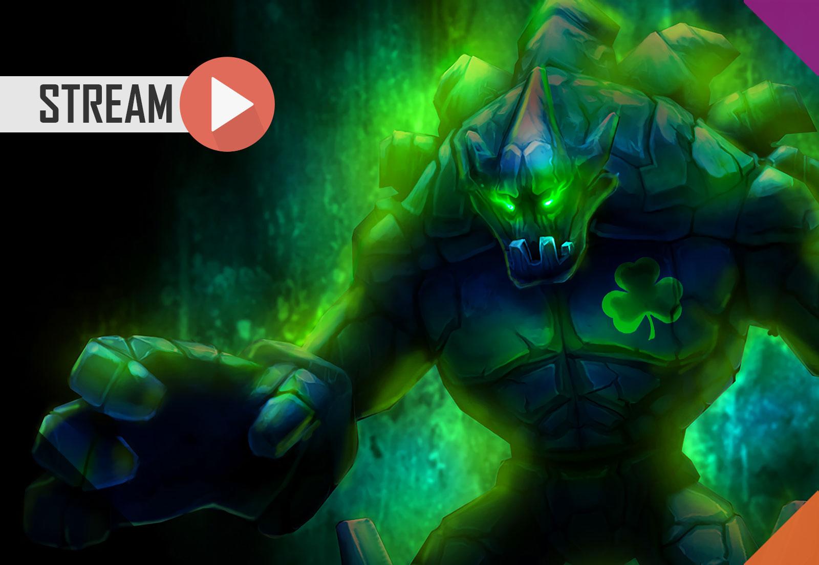 League of Legends (Flex) | Garen (Top), Warwick (Jg) e Malphite (Mid)