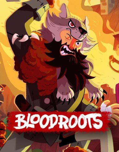 Use uma cenoura (?) como arma em BLOODROOTS!